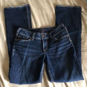 Silver womens jeans